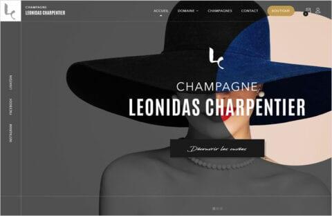 Champagne Charpentier Léonidas
